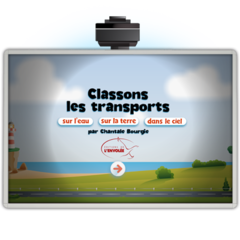 Classons les transports - Application TNI