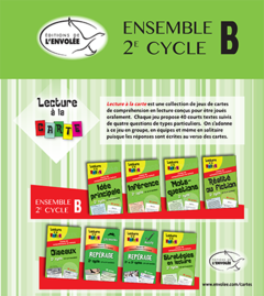 Lecture à la carte - Ensemble 2e cycle