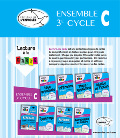 Lecture à la carte – Ensemble 3e cycle