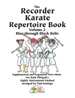 Recorder Karate Repertoire Book, vol. 2