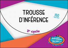 Trousse d'inférence 2e cycle
