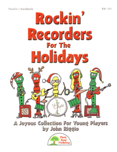 Rockin' Recorders For The Holidays (livre et CD)