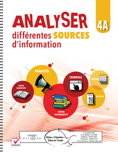 Analyser différentes sources d'information 4A