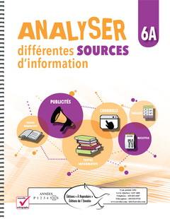 Analyser différentes sources d'information 6A