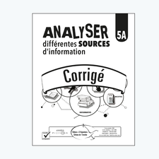 Analyser différentes sources d'information 5A