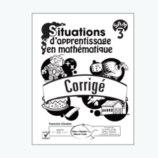Situations d'apprentissage en mathématique 3