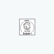 « Super ! » Bella Stamp